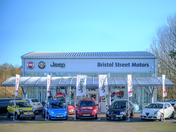 Fiat newcastle vertu motors plc for Bristol motor mile dealerships