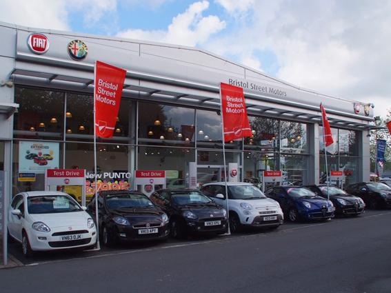 Fiat Worcester Vertu Motors PLC - Fiat dealers