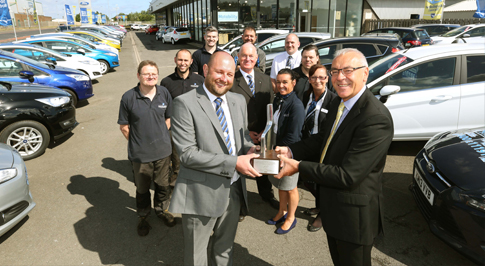 Bristol Street Motors Hartlepool recognised by Ford