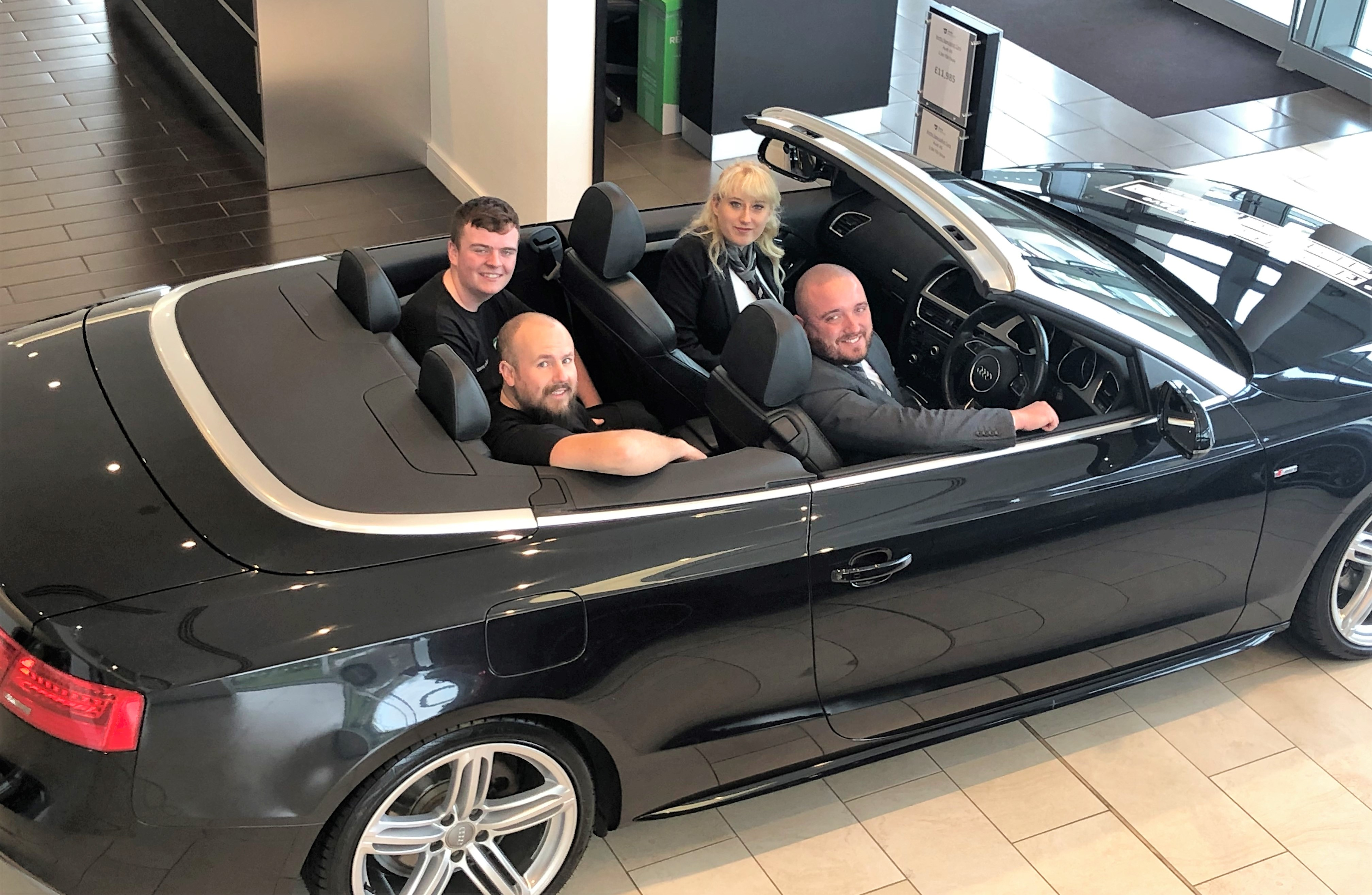 Vertu Specialist Cars celebrates growth