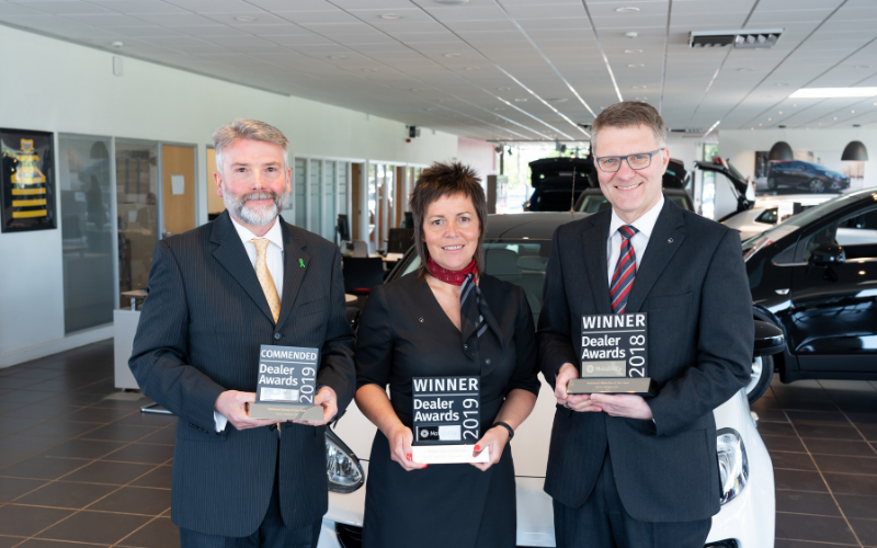 Vertu Motors Plc Celebrates Three Motability National Awards