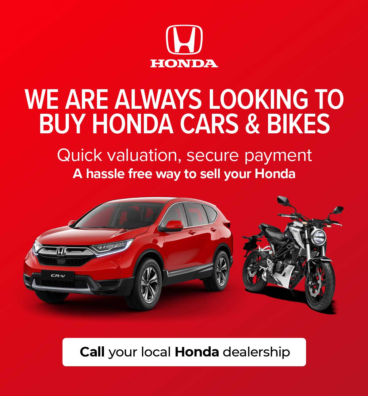 Honda we buy your car 130320