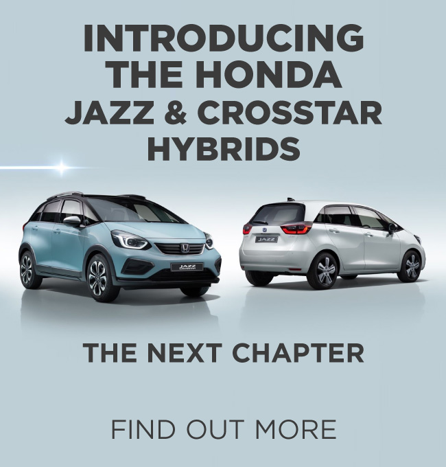 All New Honda Jazz and Crosstar Hybrid