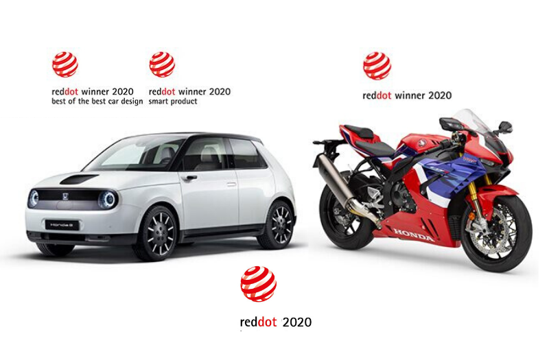 Honda Wins Two Design Awards At Red Dot Product Design 2020 Awards