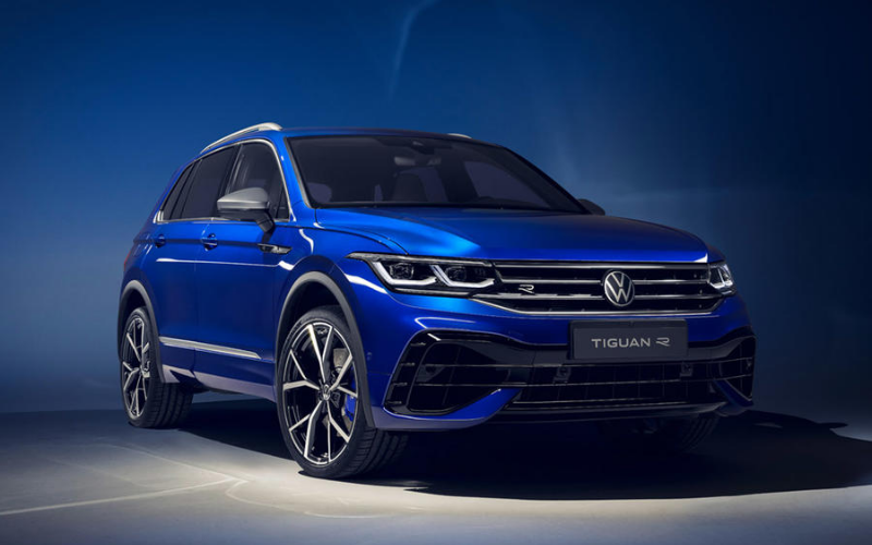 Volkswagen Refreshes Tiguan Line-Up With New R Variant And PHEV Model