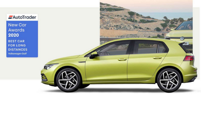 Auto Trader Awards The Volkswagen Golf As Best Car For Long Distances 2020