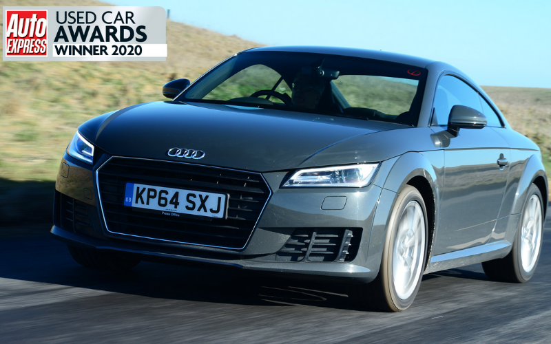 The Audi TT Is Named Best Used Coupe At Auto Express Used Car Awards 2020