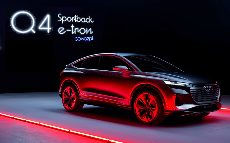 Introducing The New Audi Q4 Sportback E-Tron Concept