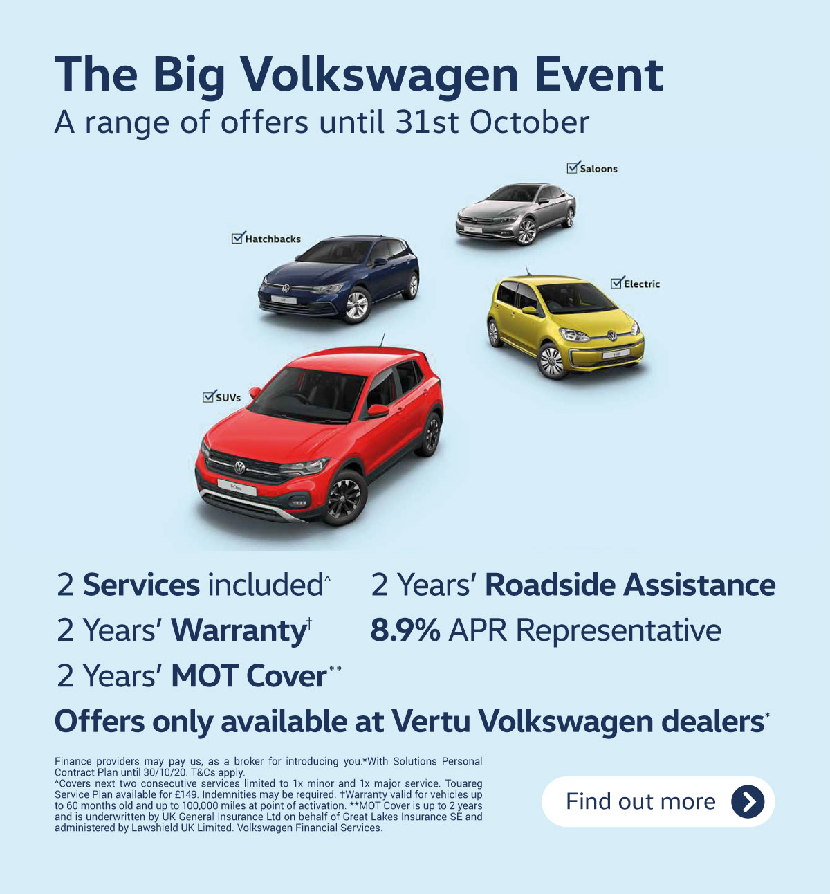 Volkswagen Approved Used 140820 (Paused Until 1st October)