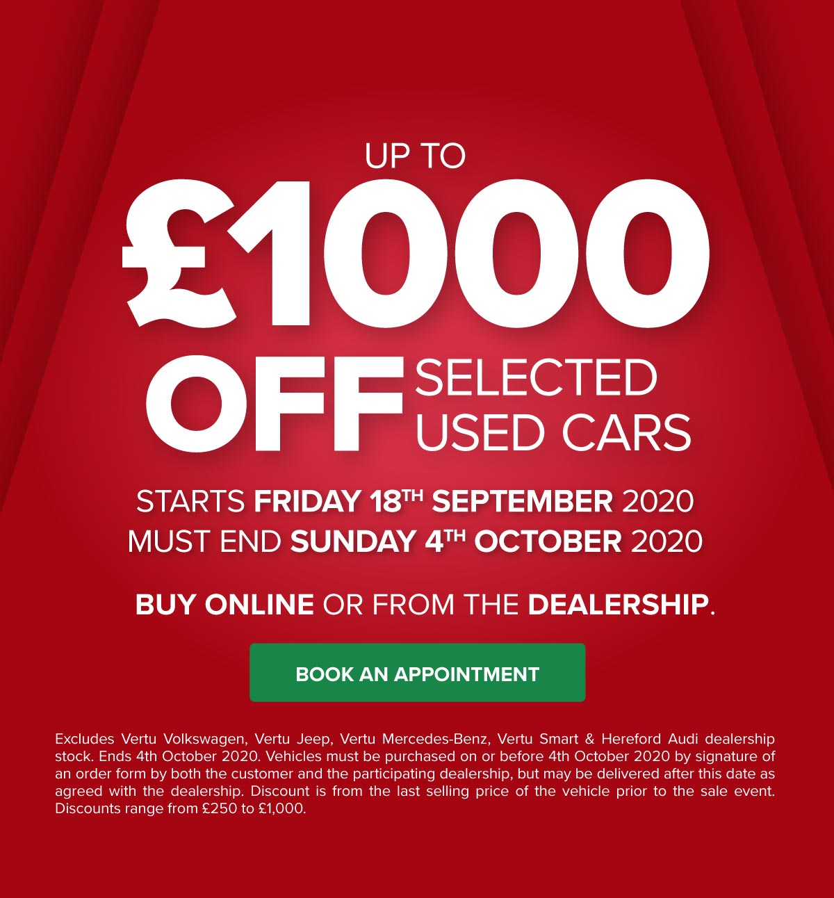VM Sale Event Red 110920 (HKT dealerships only)