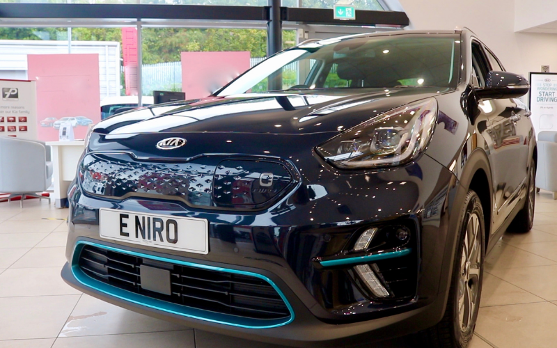 Take A Closer Look At The New 2020 Kia E-Niro: A Video Tour