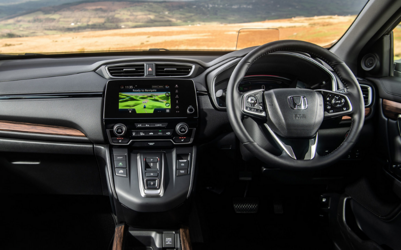 Take A Virtual Test Drive Of The New Honda CR-V