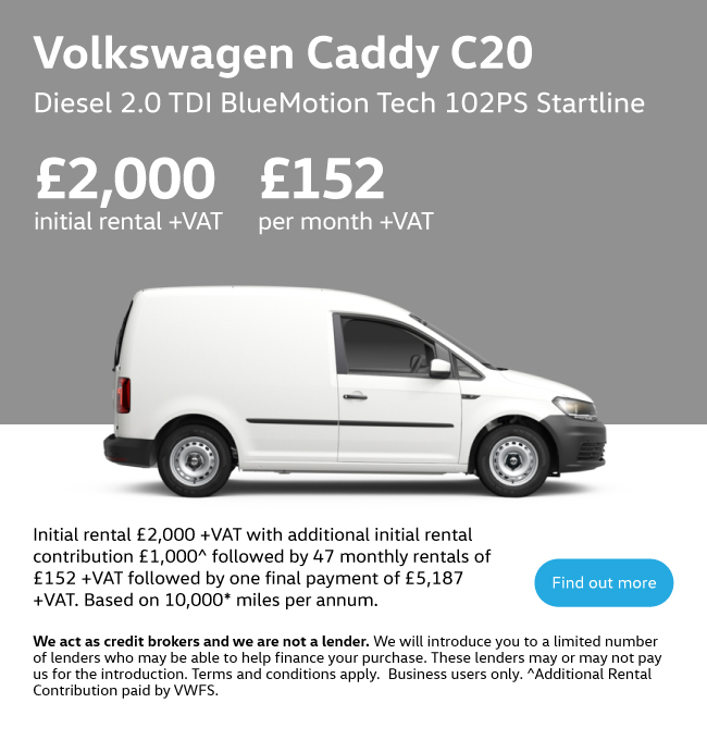 Volkswagen Caddy 291020