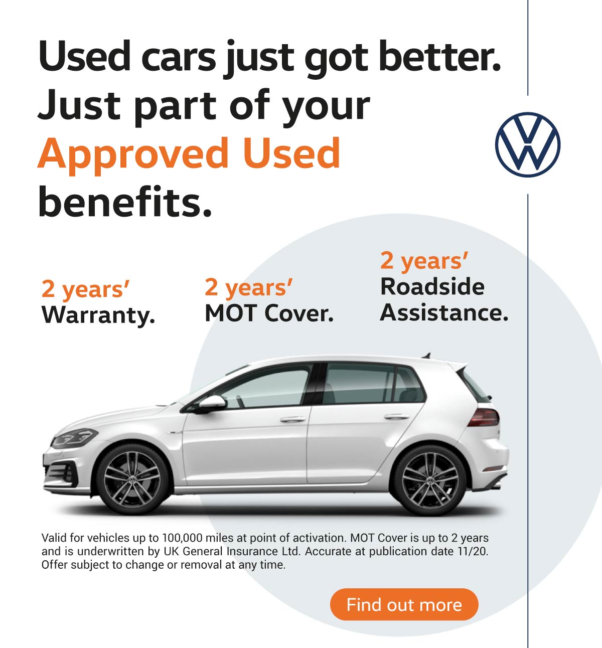 Volkswagen Approved Used 041120