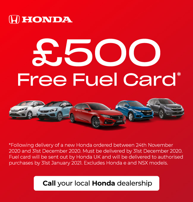 Honda Fuel Card Offer