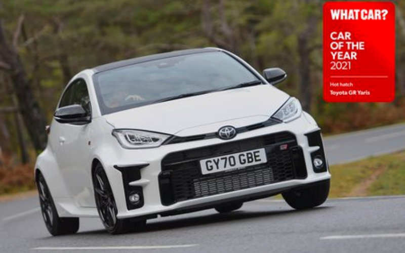 Toyota GR Yaris Named What Car?'s 'Hot Hatch Of The Year'