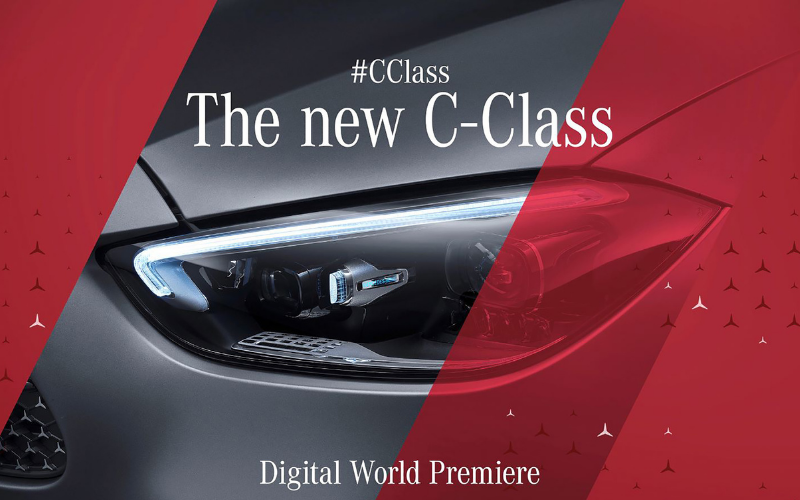 Watch The Online World Premiere Of The Mercedes-Benz C-Class