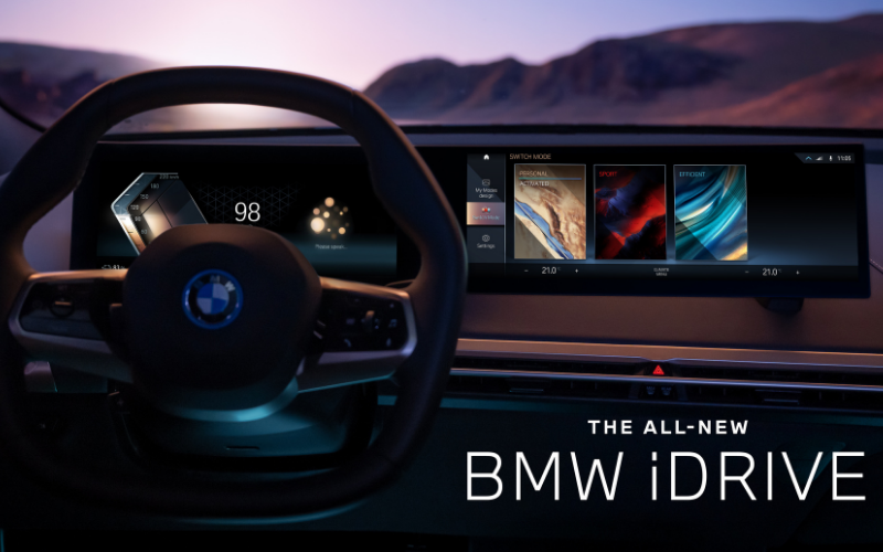 BMW Reveals Their Eighth-Generation iDrive Infotainment System