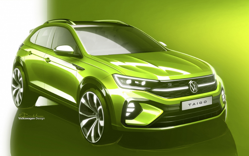 Volkswagen Teases The All-New Taigo