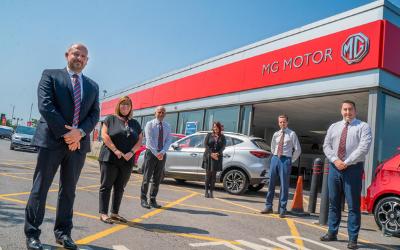 Vertu Motors welcomes MG franchise