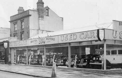 Bristol Street Motors 1956